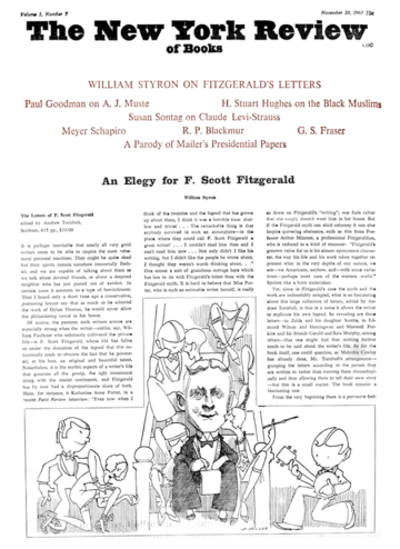 Image of the November 28, 1963 issue cover.