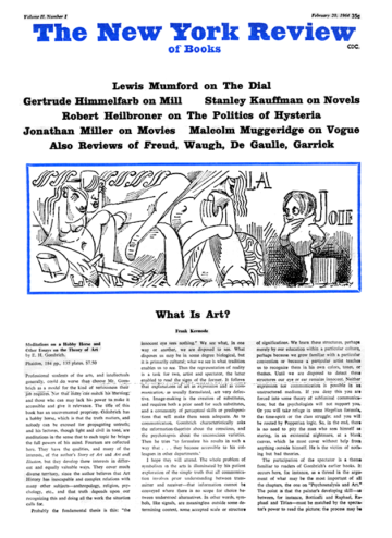 Image of the February 20, 1964 issue cover.
