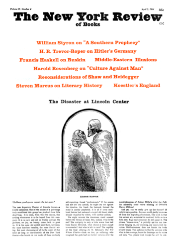 Image of the April 2, 1964 issue cover.