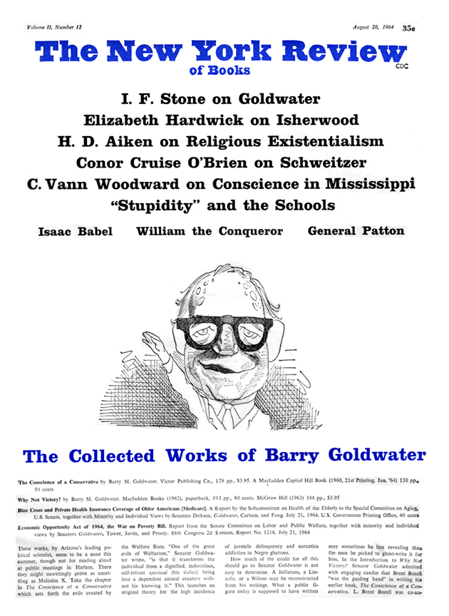 Table of Contents - August 20, 1964 | The New York Review of