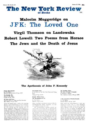 Image of the January 28, 1965 issue cover.