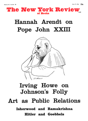 Image of the June 17, 1965 issue cover.
