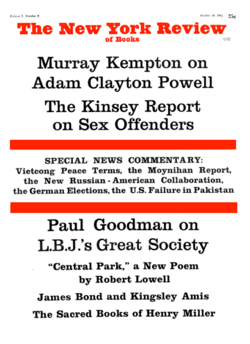 Image of the October 14, 1965 issue cover.