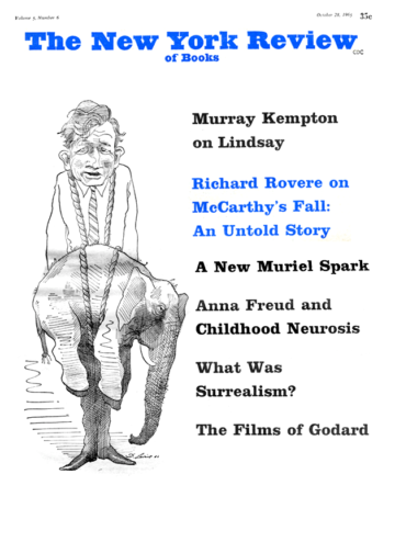Image of the October 28, 1965 issue cover.