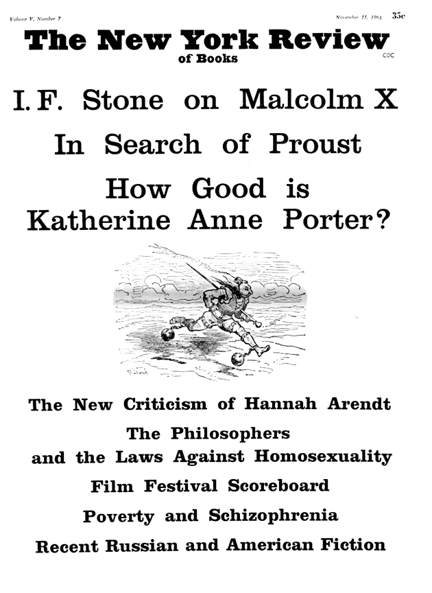 Image of the November 11, 1965 issue cover.