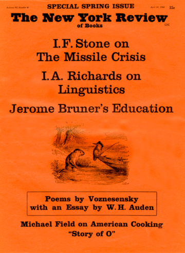 Image of the April 14, 1966 issue cover.