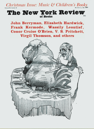 Image of the December 15, 1966 issue cover.