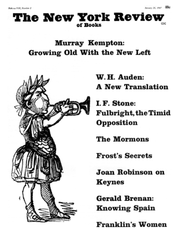 Image of the January 26, 1967 issue cover.