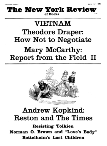 Image of the May 4, 1967 issue cover.