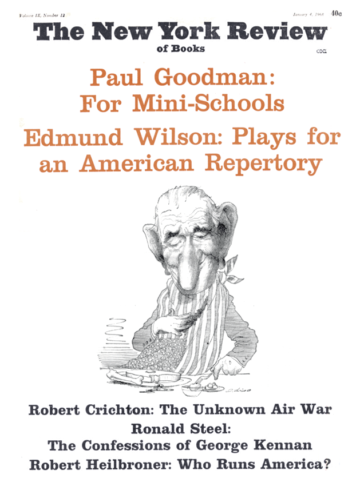 Image of the January 4, 1968 issue cover.