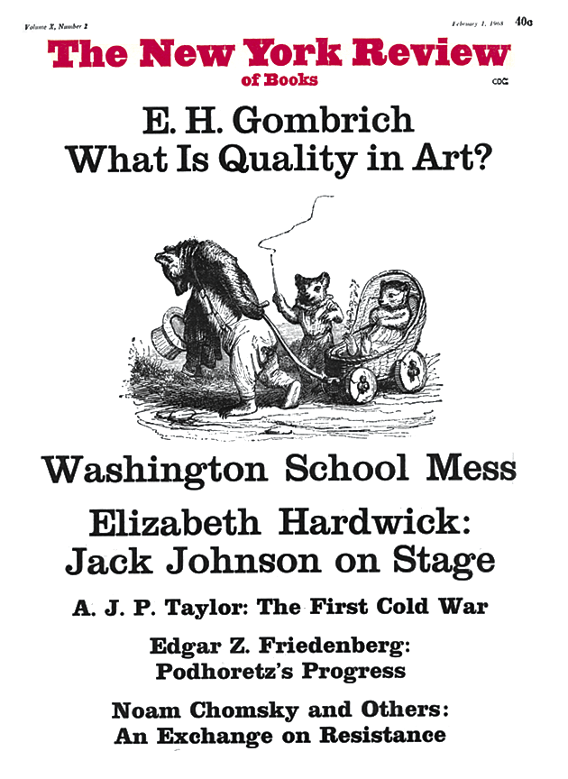 Image of the February 1, 1968 issue cover.