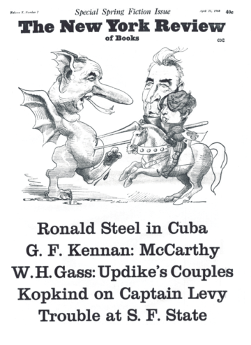 Image of the April 11, 1968 issue cover.