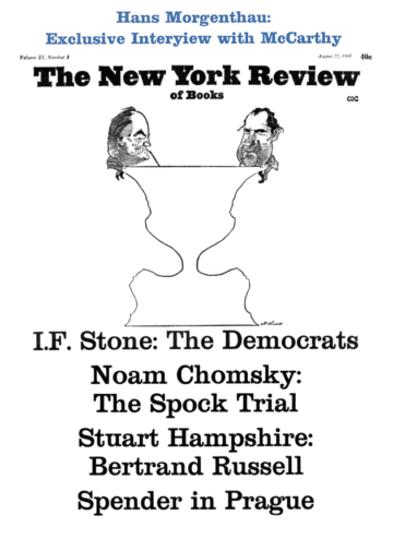 Image of the August 22, 1968 issue cover.