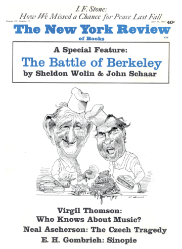 Image of the June 19, 1969 issue cover.