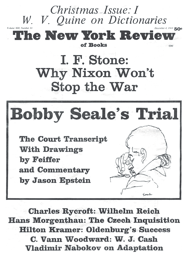 Image of the December 4, 1969 issue cover.