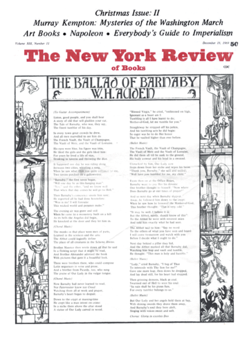 Image of the December 18, 1969 issue cover.
