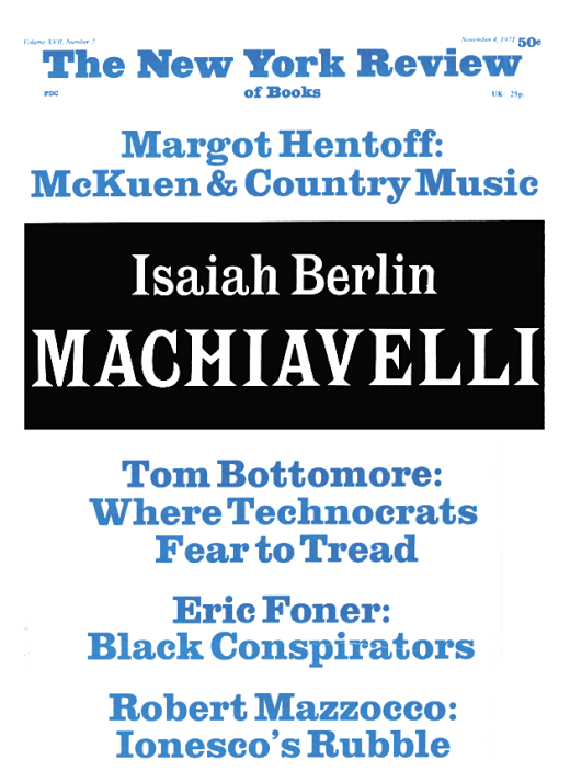 a special supplement the question of machiavelli by isaiah a special supplement the question of machiavelli by isaiah berlin the new york review of books