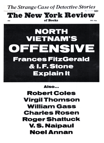 Image of the May 18, 1972 issue cover.