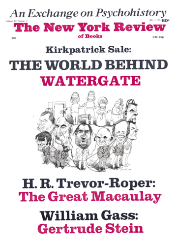 Image of the May 3, 1973 issue cover.