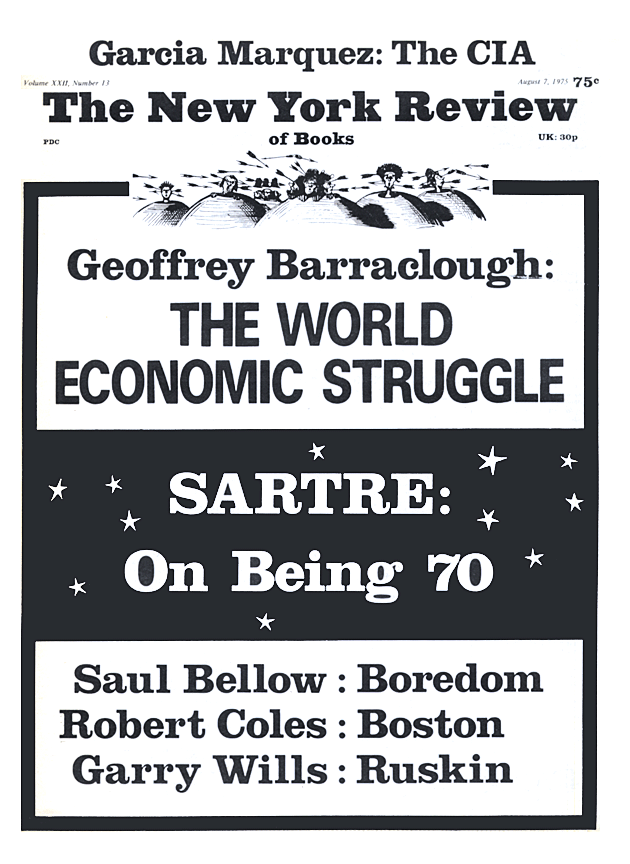 Image of the August 7, 1975 issue cover.