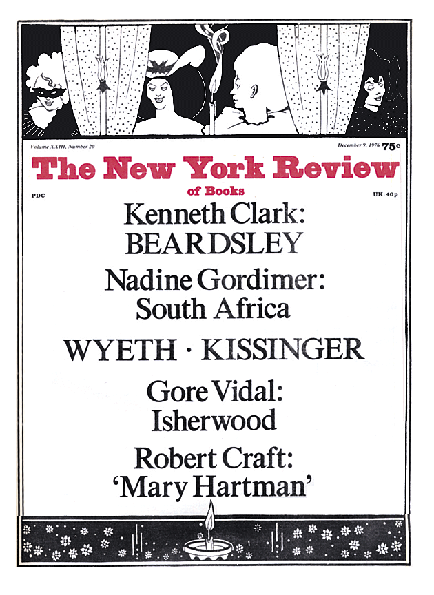 Image of the December 9, 1976 issue cover.