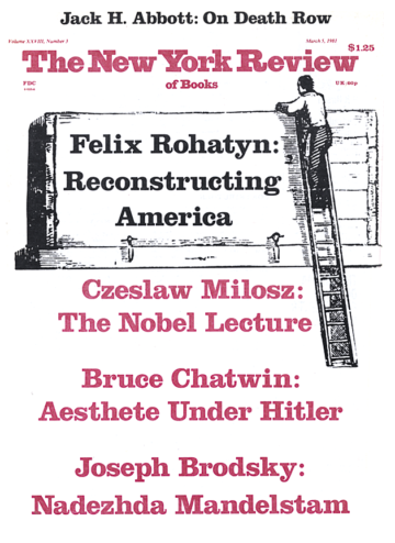 Image of the March 5, 1981 issue cover.