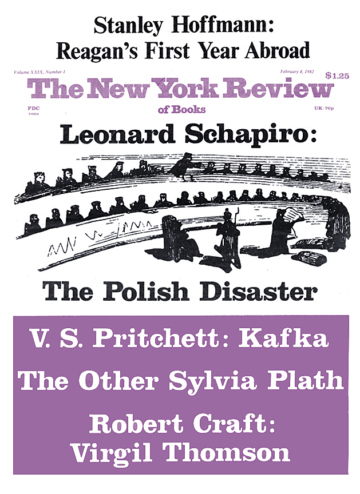 Image of the February 4, 1982 issue cover.