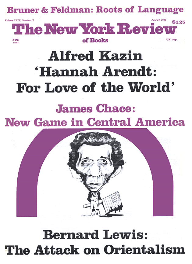 Image of the June 24, 1982 issue cover.