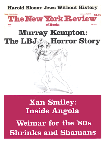 Image of the February 17, 1983 issue cover.