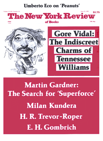 Image of the June 13, 1985 issue cover.