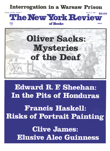 Image of the March 27, 1986 issue cover.