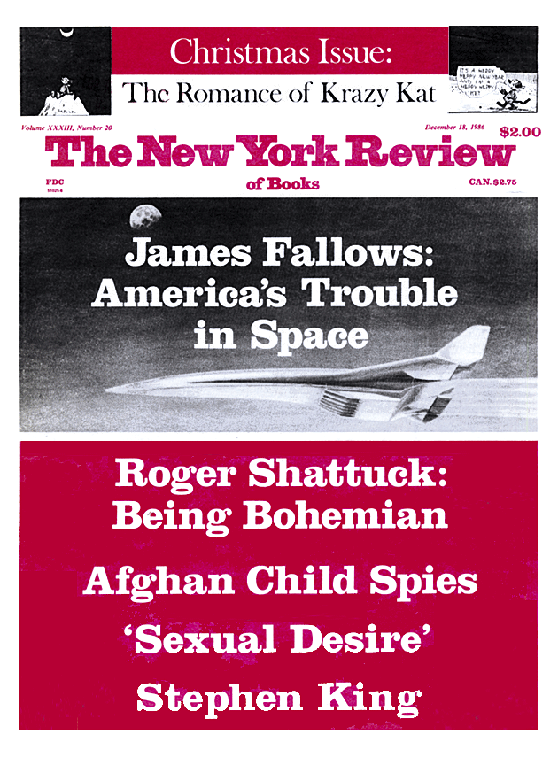 Image of the December 18, 1986 issue cover.