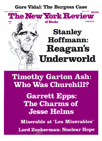 Image of the May 7, 1987 issue cover.