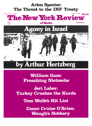 Image of the February 4, 1988 issue cover.