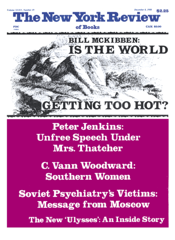 Image of the December 8, 1988 issue cover.