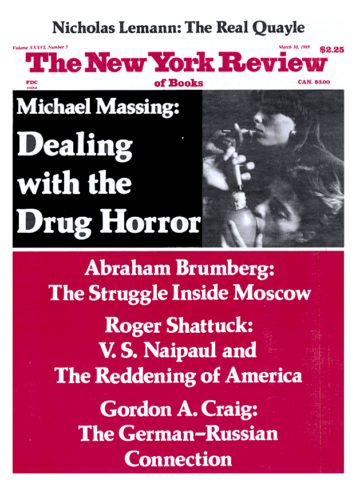 Image of the March 30, 1989 issue cover.