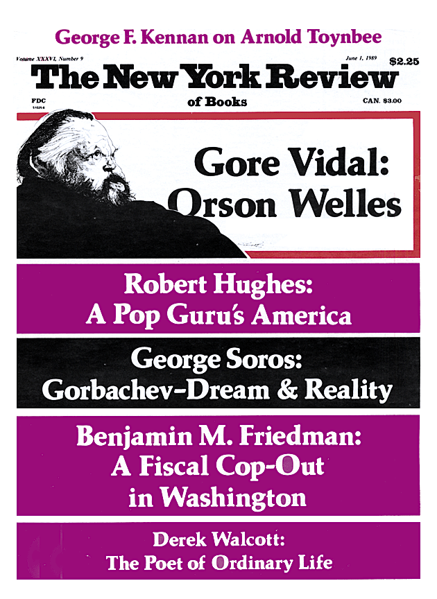 Image of the June 1, 1989 issue cover.