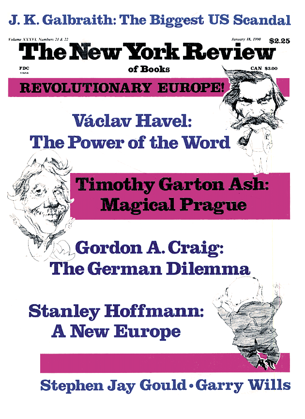 Image of the January 18, 1990 issue cover.