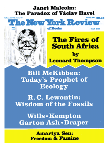 Image of the June 14, 1990 issue cover.