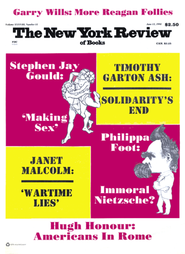 Image of the June 13, 1991 issue cover.