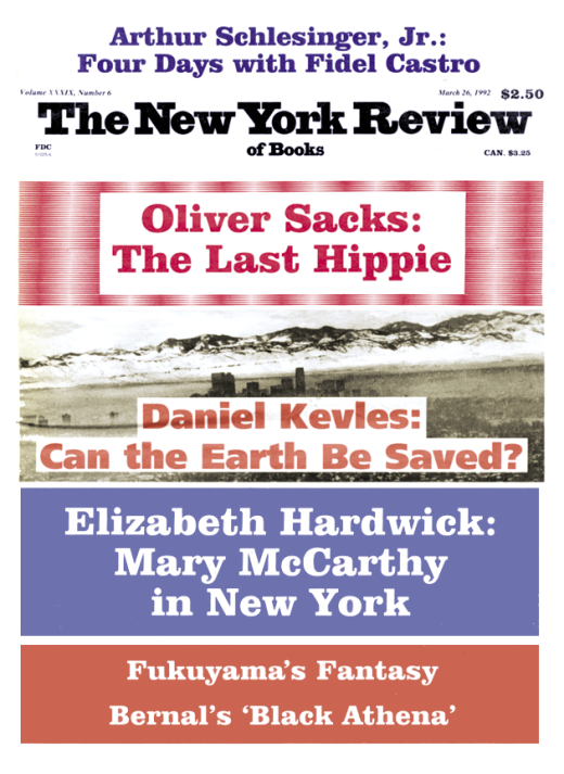 The Last Hippie | by Oliver Sacks | The New York Review of Books