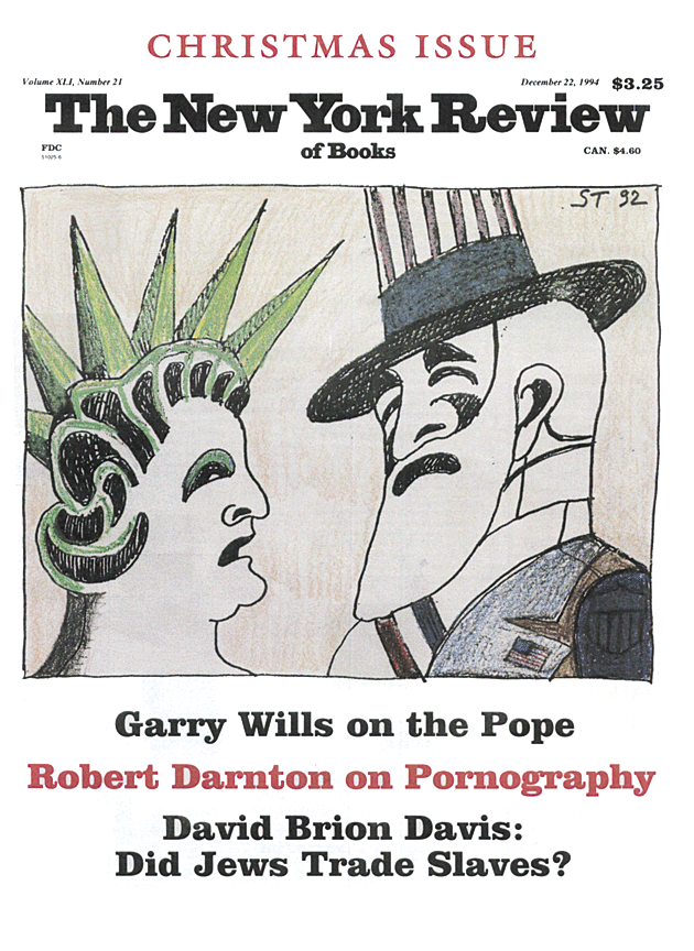 Image of the December 22, 1994 issue cover.