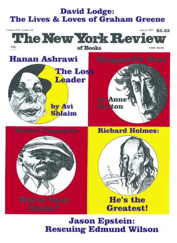 Image of the June 8, 1995 issue cover.