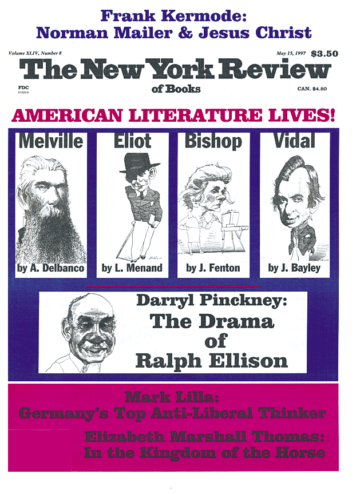Image of the May 15, 1997 issue cover.