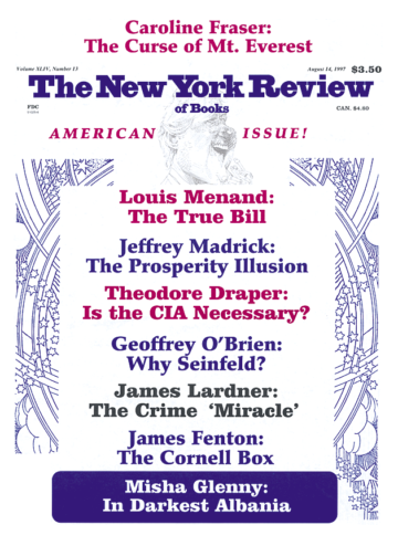 Image of the August 14, 1997 issue cover.
