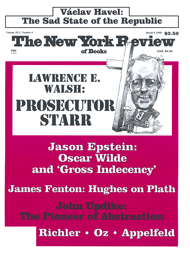 Image of the March 5, 1998 issue cover.