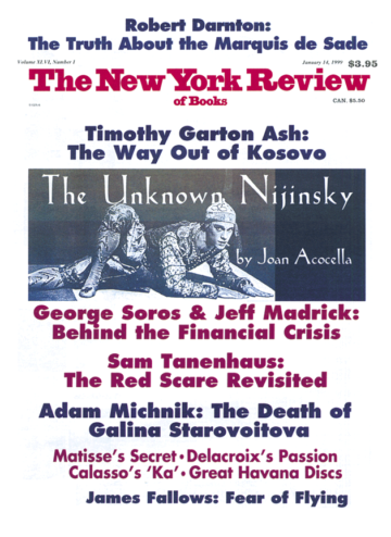 Image of the January 14, 1999 issue cover.
