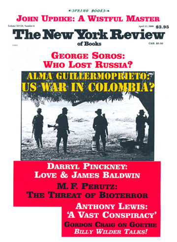 Image of the April 13, 2000 issue cover.