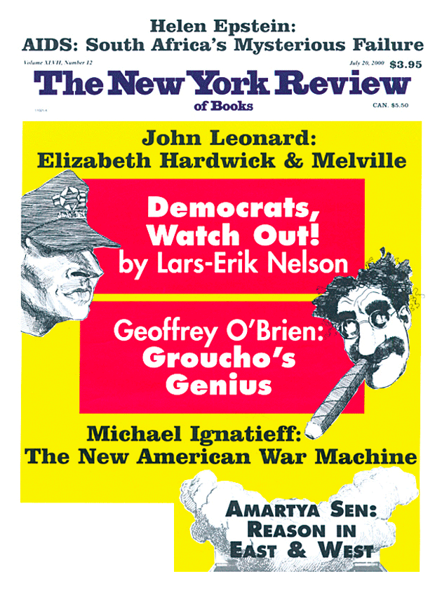 Image of the July 20, 2000 issue cover.