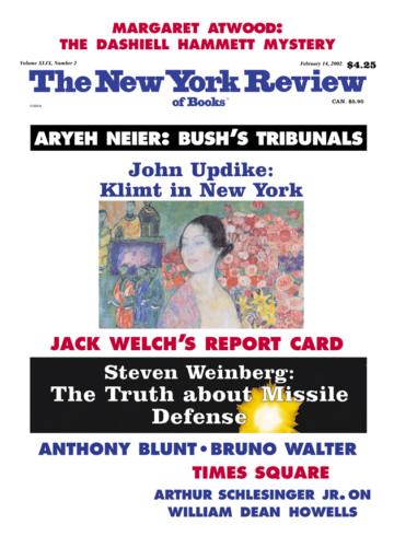 Image of the February 14, 2002 issue cover.